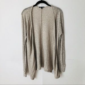 ☀️AEO   Lightweight Gray Open Front Cardigan